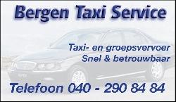 Afbeelding › Bergen Taxi & Groepsvervoer Eindhoven