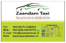 Afbeelding › Zaandam Taxi